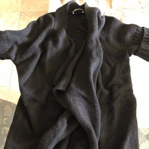 Vince cashmere cardigan shirt sleeve xs